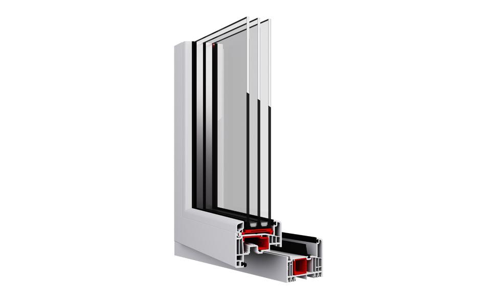Eko-Okna - okno GEALAN S 9000