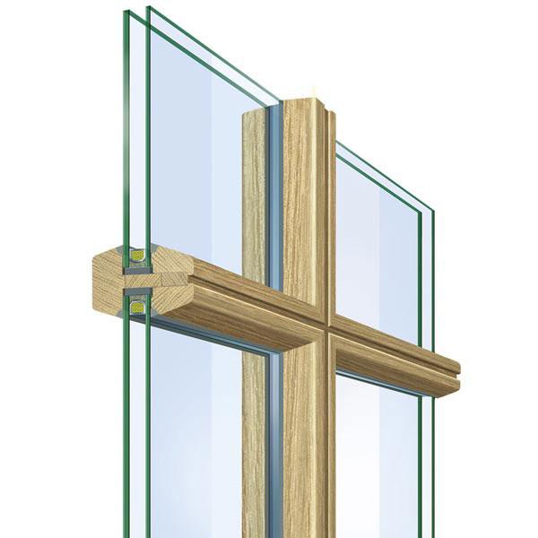Szczeblina w oknie drewnianym fot. neuffer.de