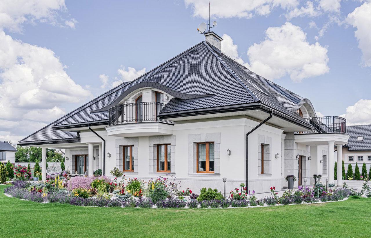 Dom wyposażony w energooszczędne okna - fot. Vetrex