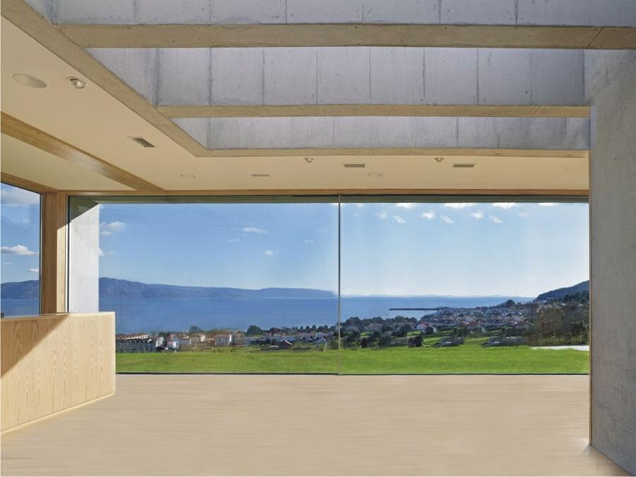 Cortizo Cor Vision okna panoramiczne
