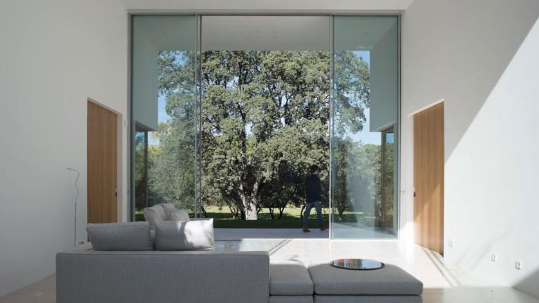 bezramowe panoramiczne aluminiowe drzwi przesuwne panoramah!