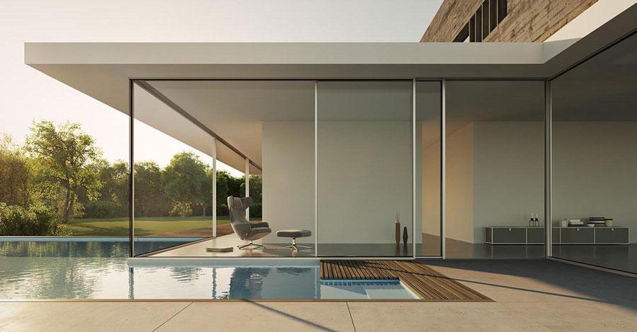 Solarlux Cero panoramiczne okna i drzwi przesuwne