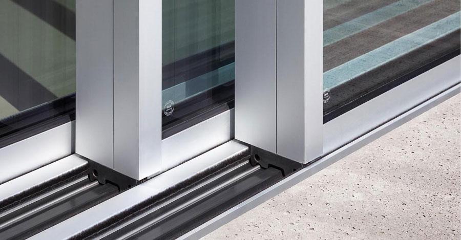 Solarlux Cero panoramiczne bezprogowe drzwi przesuwne