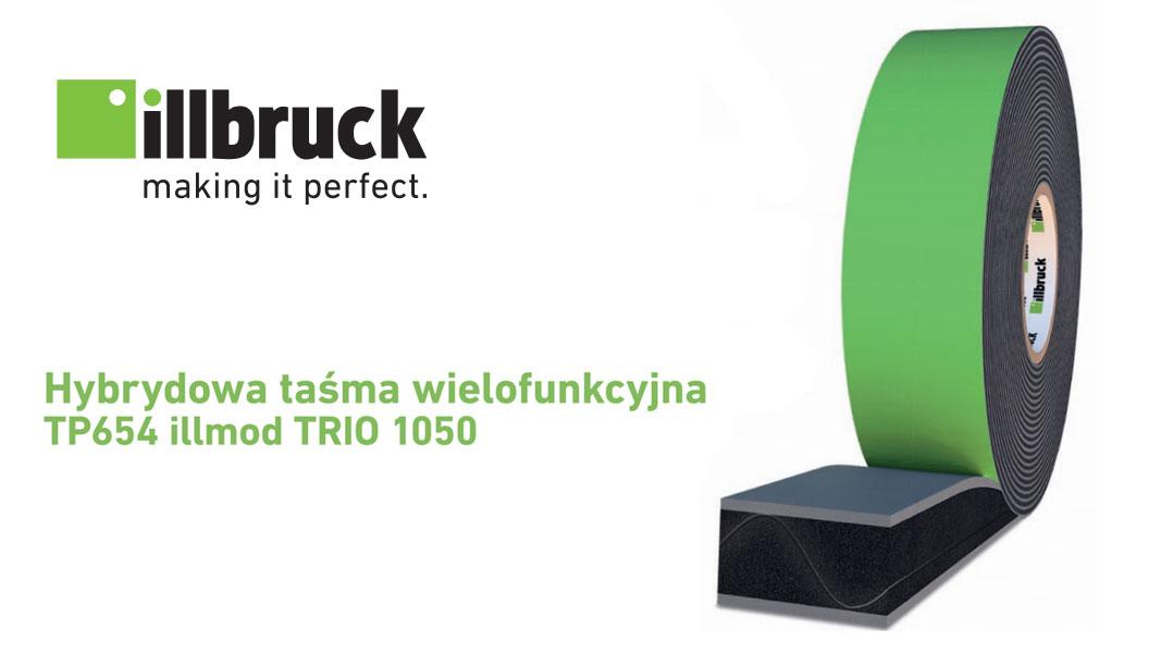 Hybrydowa taśma wielofunkcyjna illbruck TP654 illmod TRIO 1050