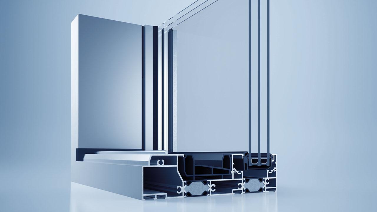 System drzwi podnoszono-przesuwnych heroal S 77 SL © heroal