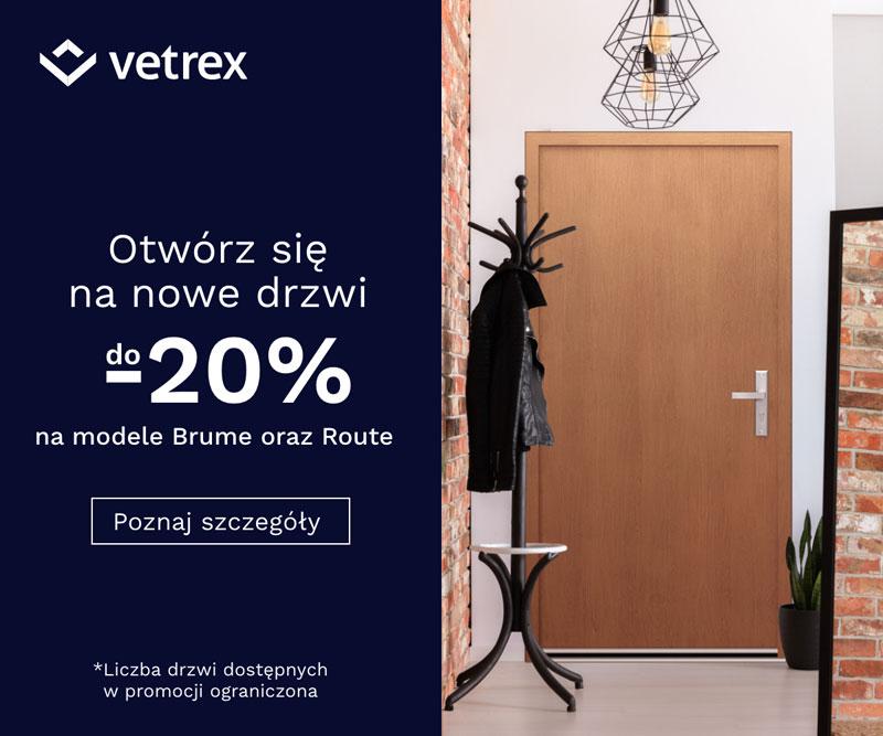 Promocja Vetrex Otwórz się na nowe drzwi. Fot. Vetrex