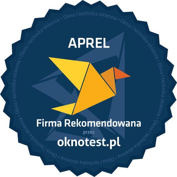 Firma rekomendowana Aprel