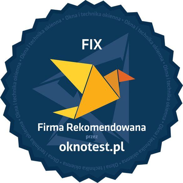Firma rekomendowana Fix