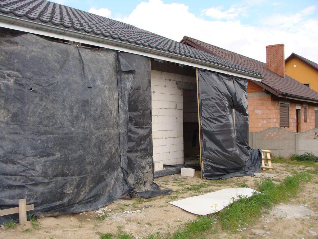 Przygotowanie budynku pasywnego do montażu w warstwie ocieplenia.