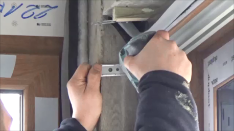 Mocowanie mechaniczne kotew wewnętrznych