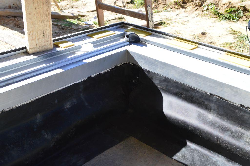 Uszczelnienie wewnętrzne części progowej. Fartuchy EPDM.