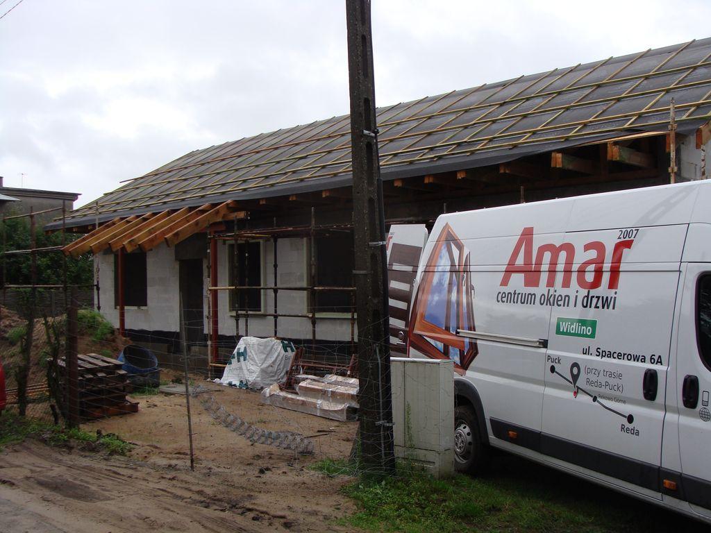 Energooszczędny dom jednorodzinny elewacja NW