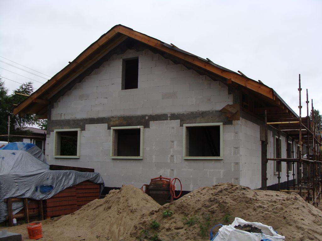 Energooszczędny dom jednorodzinny elewacja SE