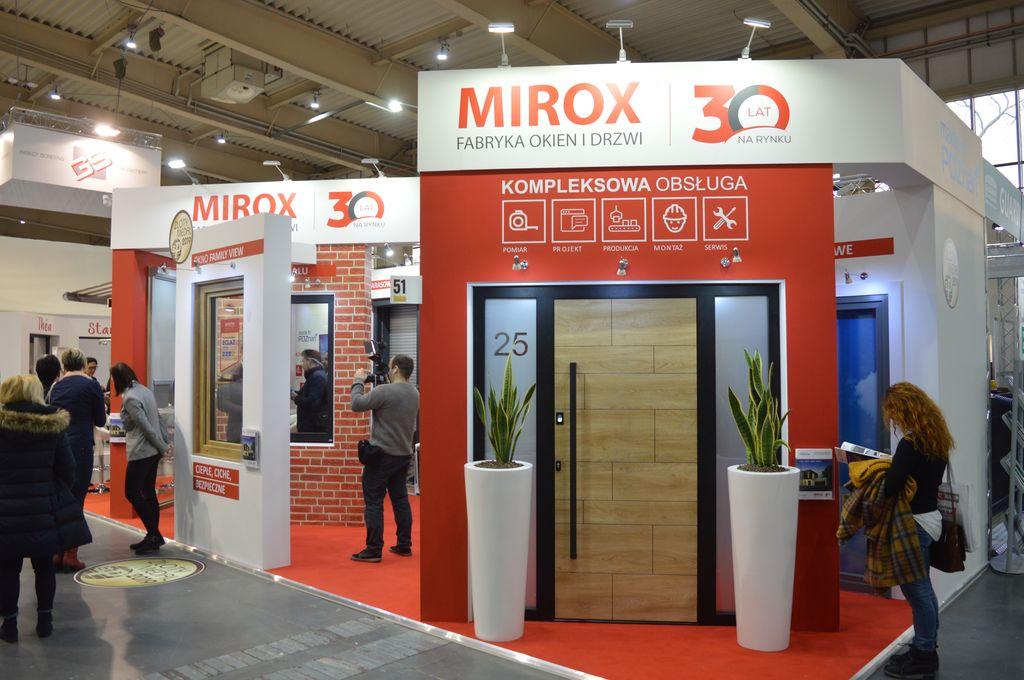 Stoisko Poznańskiego producenta okien firmy Mirox