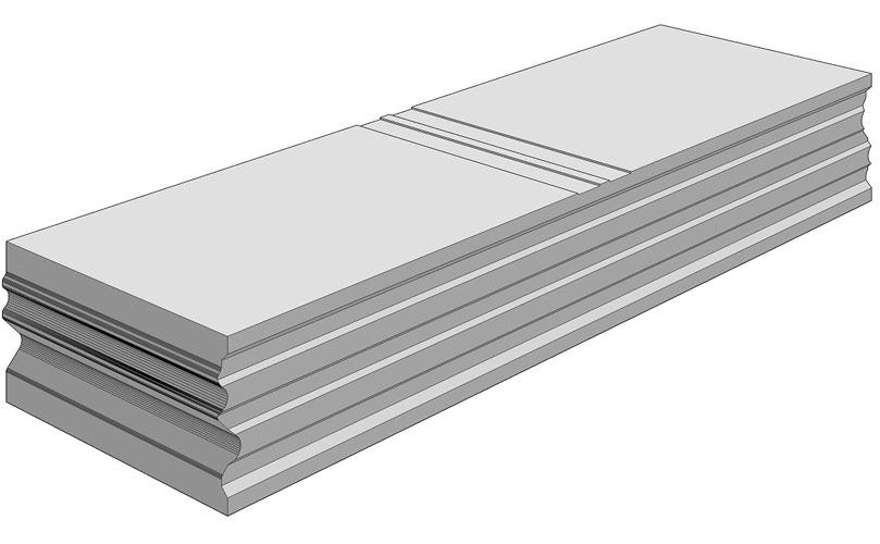 Ciepła Belka Montażowa, (CBM), termoizolacyjna belka uzupełniająca 700/200 mm