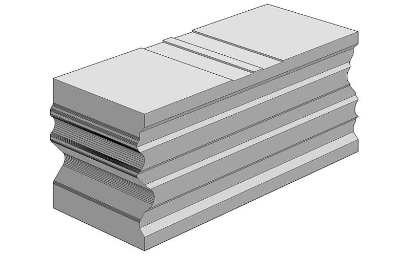 Ciepła Belka Montażowa, (CBM), termoizolacyjna belka uzupełniająca 250/100 mm