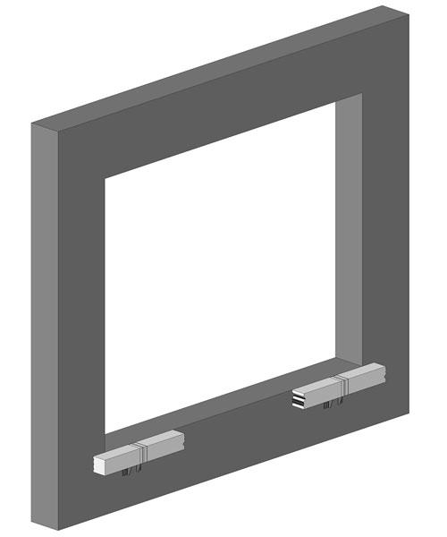 System montażu CBM - tworzenie ramy nośnej dla okien i drzwi balkonowych