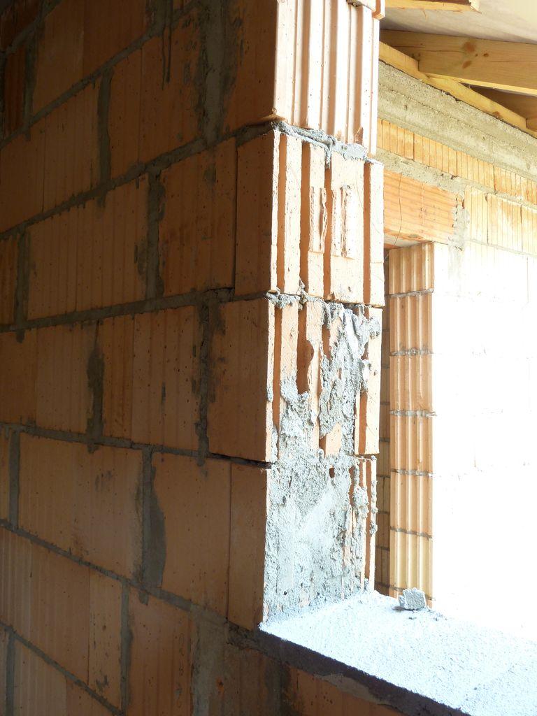 Ościeże niezdatne do montażu okien