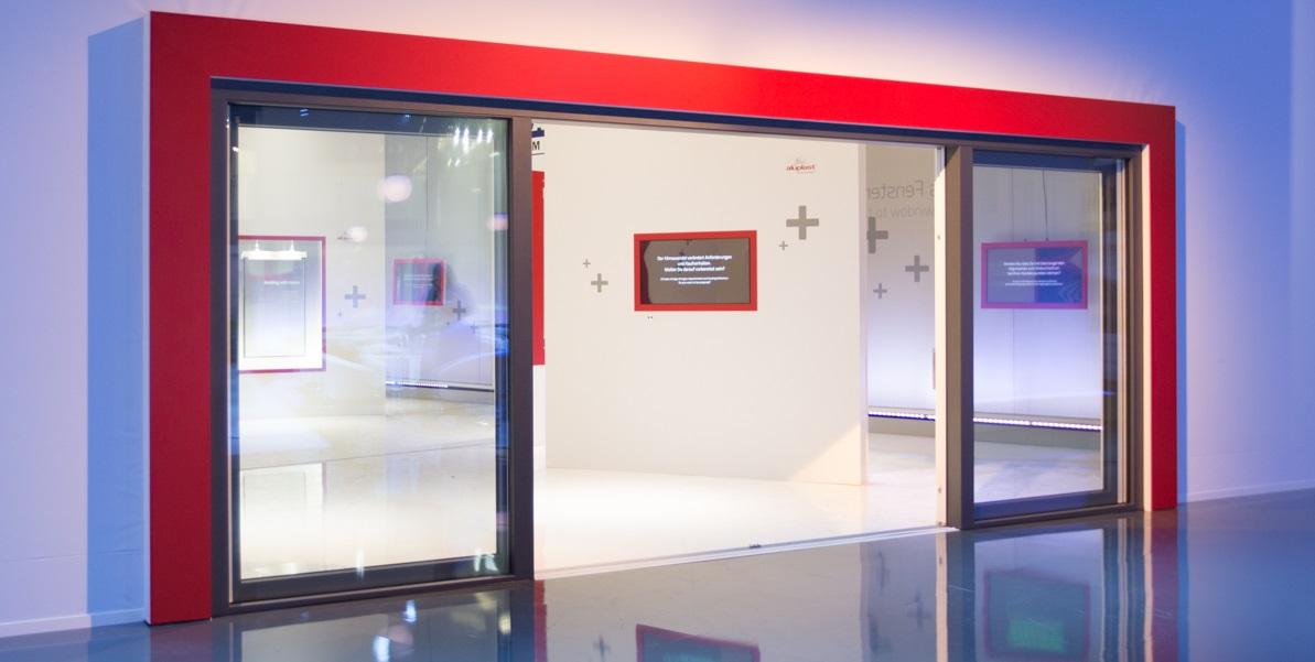 Drzwi balkonowe HST Aluplast 85 mm fixframe