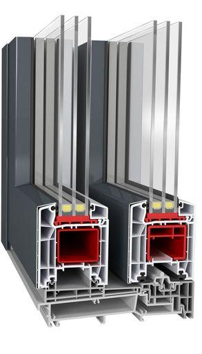 Próg drzwi balkonowych HST Aluplast 85 mm Basic