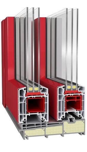 Próg drzwi balkonowych HST Aluplast 85 mm Premium