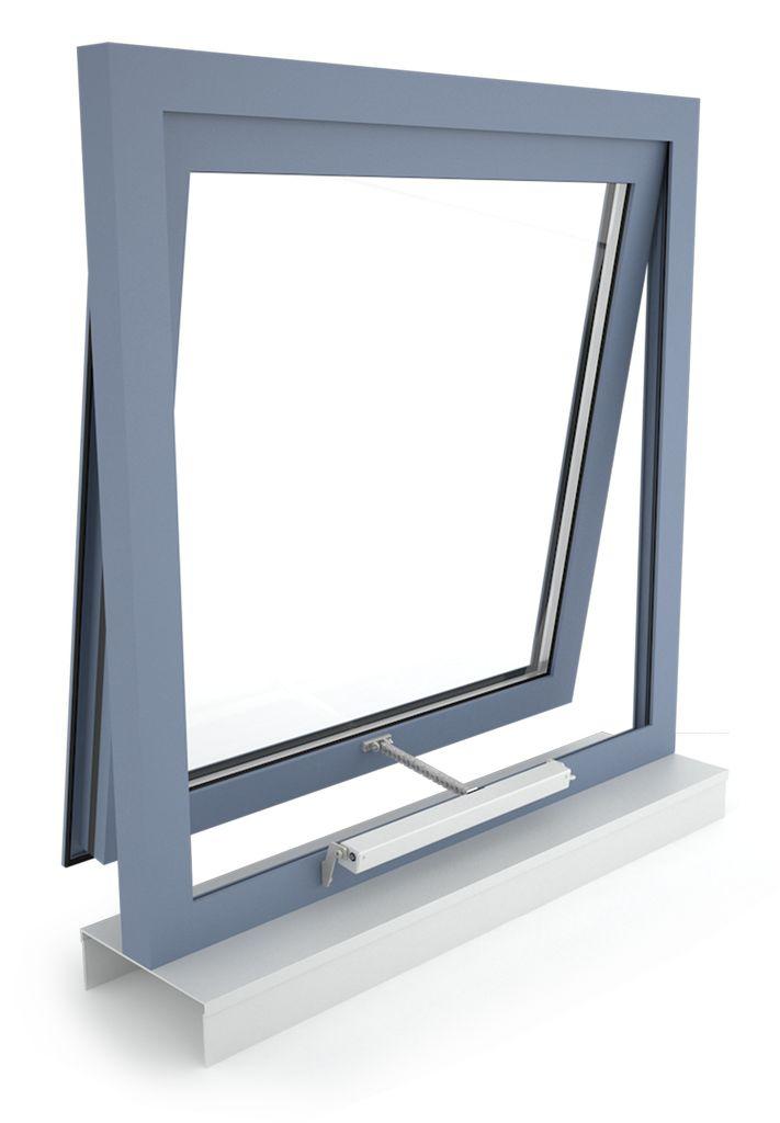 D+H napęd łańcuchowy VCD 203, okno odchylne, otwierane na zewnątrz