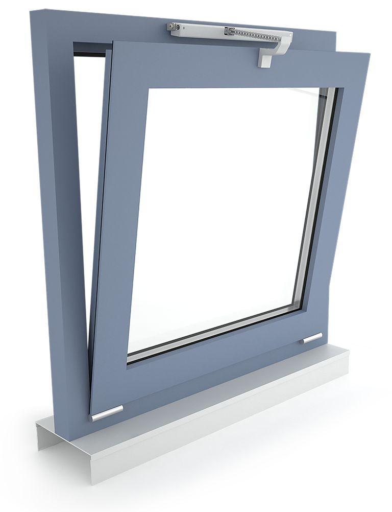 D+H napęd łańcuchowy VCD 203, okno uchylne, otwierane do wewnątrz
