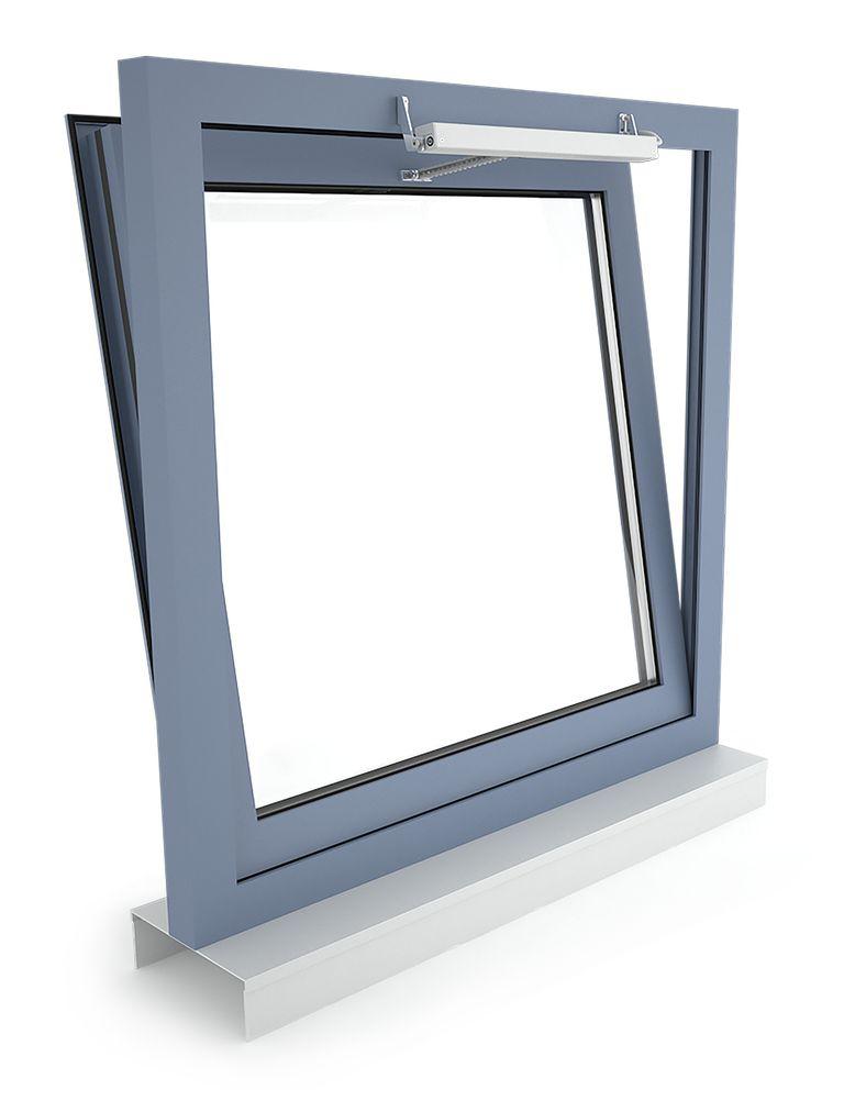 D+H napęd łańcuchowy VCD 203, okno uchylne, otwierane na zewnątrz