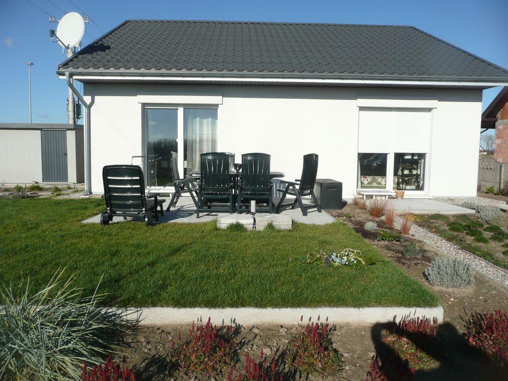 Dom pasywny w Koźminie elewacja południowa