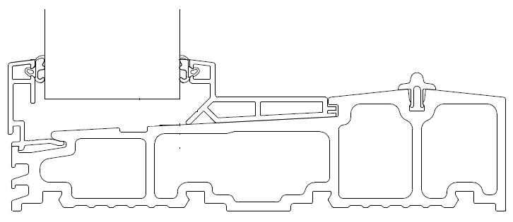 Dolne złożenie próg - część stała