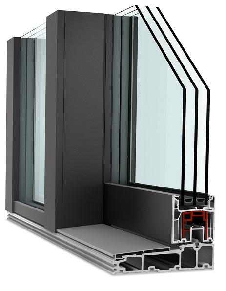Drzwi balkonowe HST Internorm KS 430