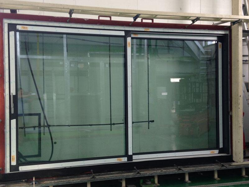 Drzwi balkonowe HST Vetrex Slide 82. Badanie w ITB.