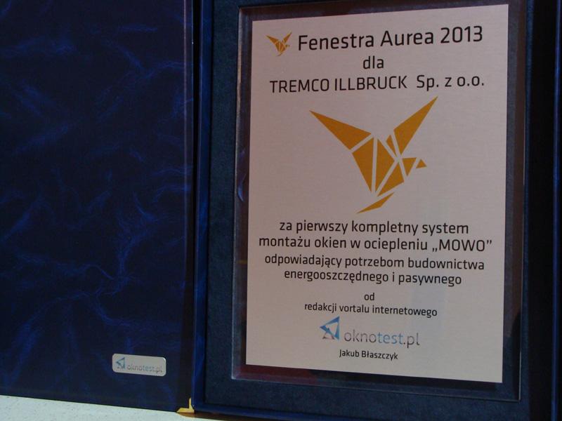 Fenestra Aurea 2013 - TREMCO ILLBRUCK