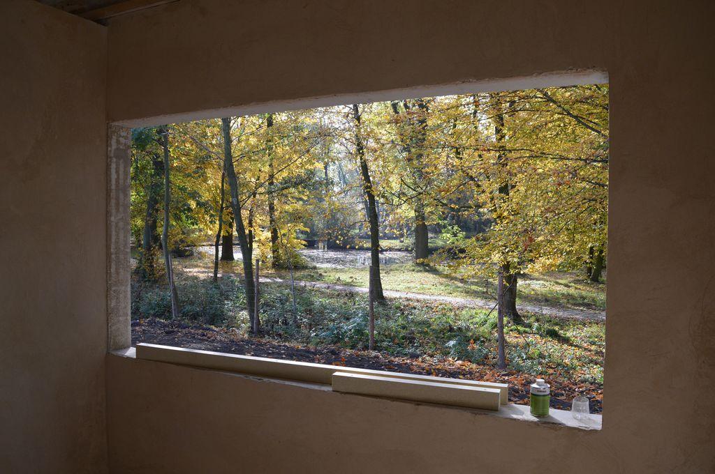 4. Oścież okienna oszklenia stałego 4116 mm x 1335 mm