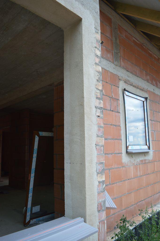Ościeże przygotowane do montażu okien