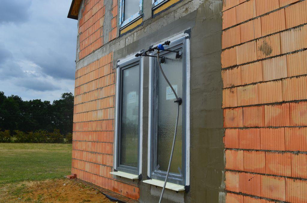 Badanie wodoszczelności montażu okna