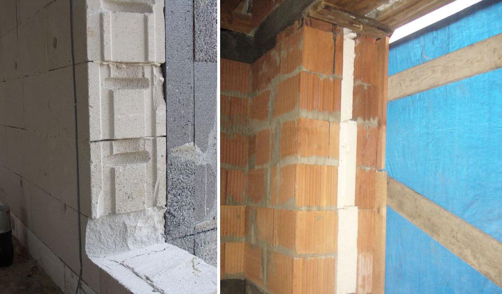 Otwory nieprzygotowane do montażu okien