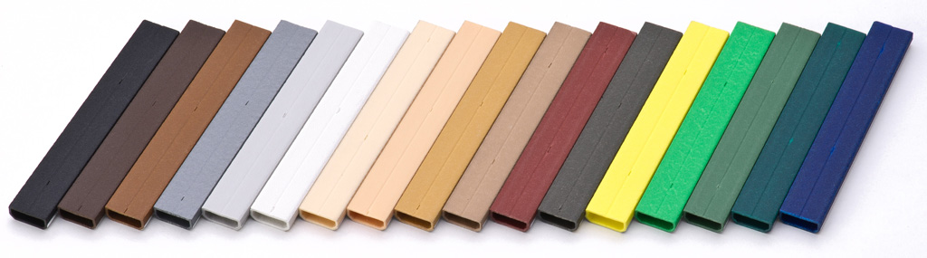 Kolory ramek międzyszybowych Swisspacer. Wzornik kolorów ramek dystansowych.