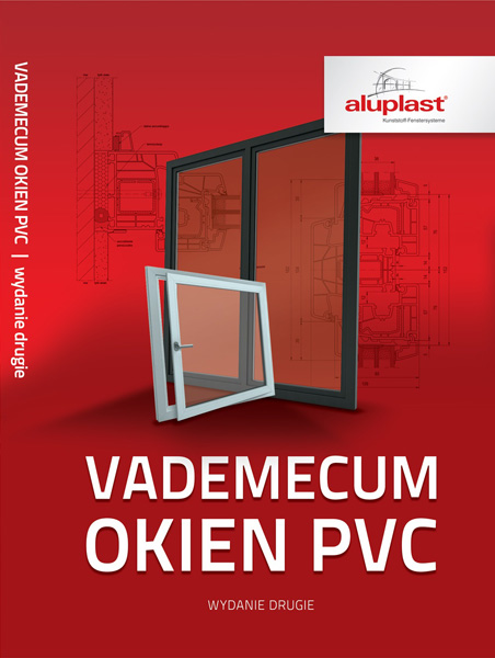 Vademecum Okien PVC. Okładka książki.