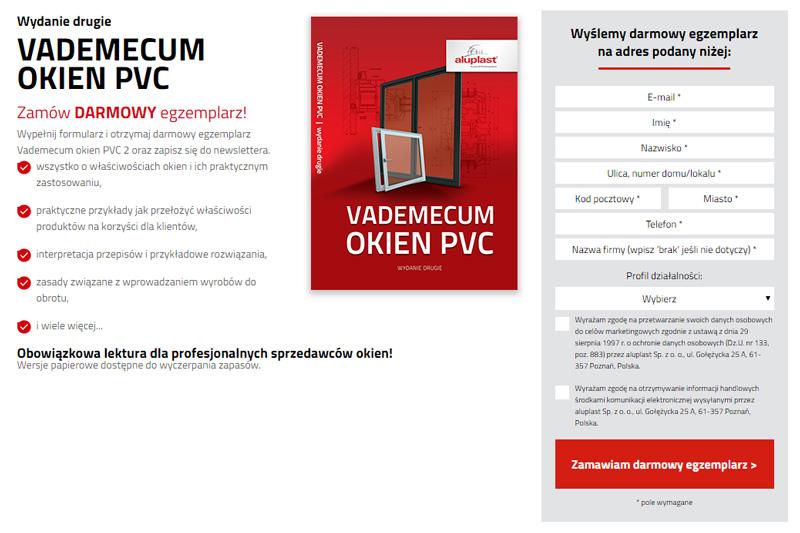 Vademecum Okien PVC