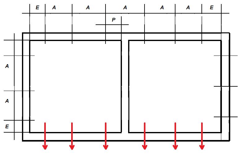 Schemat rozmieszczenia punktów mocowania mechanicznego