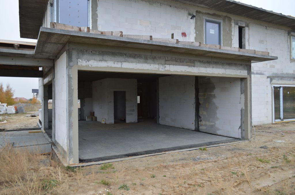 Ościeże muru konstrukcyjnego do montażu drzwi balkonowych HST o wymiarach 6600mm x 2420mm