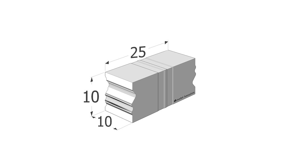 CBM.10.25 element systemu Ciepłej Belki Montażowej