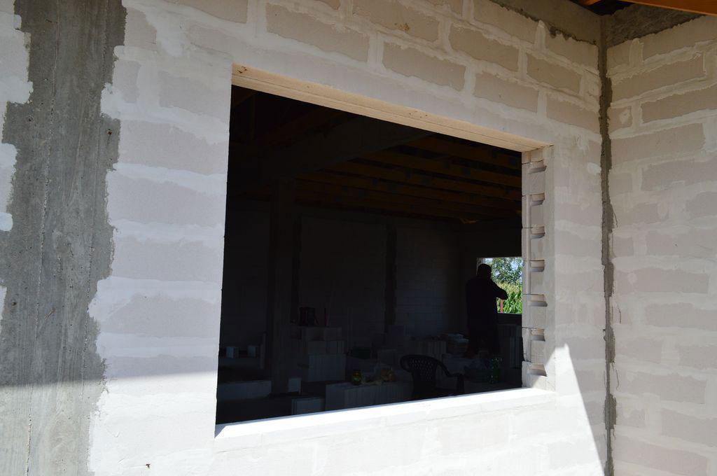 Otwór okienny od strony zewnętrznej