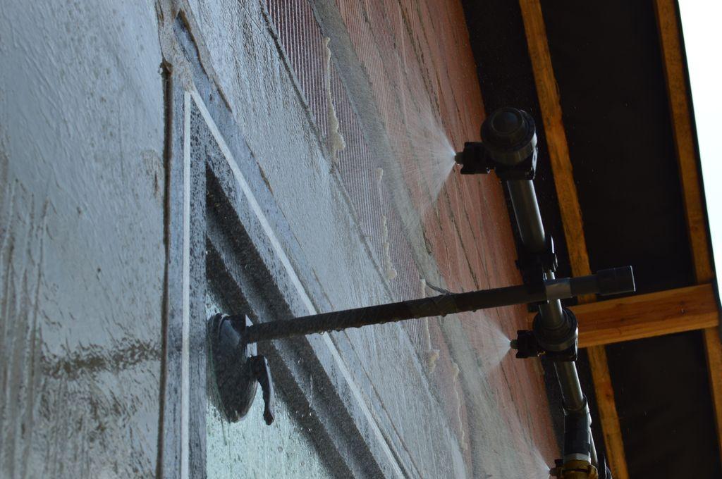 Badanie wodoszczelności połączeń okna z ościeżem po zakończonym montażu