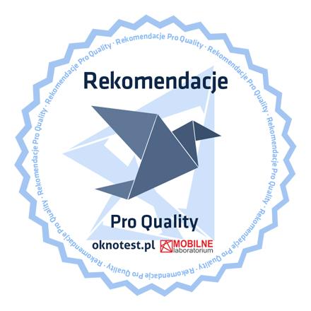 Logo Programu Rekomendacji Montażu Pro Quality
