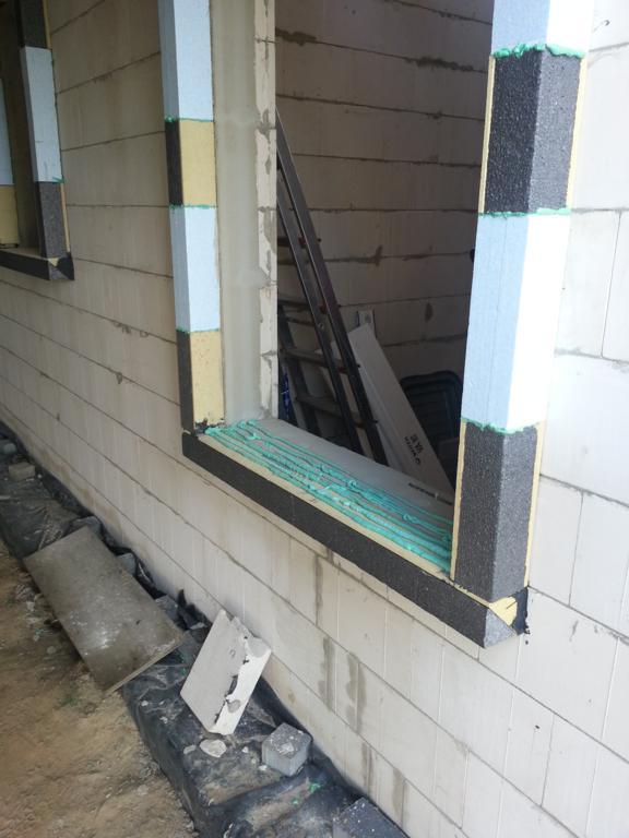 Montaż okien w ociepleniu