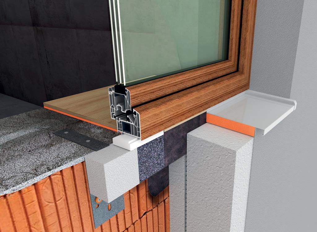 System WIMOUNT - montaż okna w ociepleniu budynku.