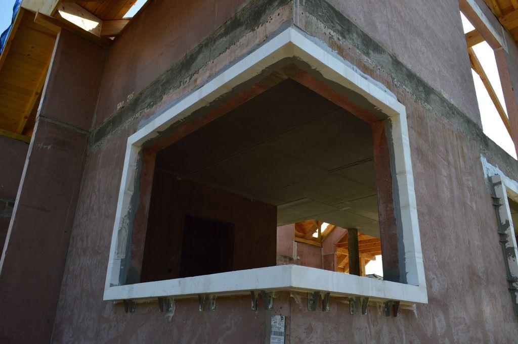 Ciepła Belka Montażowa rama nośna okna narożnego