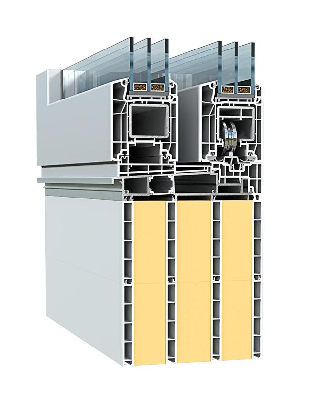 Profil montażowy ECO-TERM do drzwi przesuwnych HST